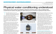 Understand Physical Water Treatment:  Getting the right